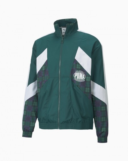 PUMA x TH Track Jacket Ponderosa Pine