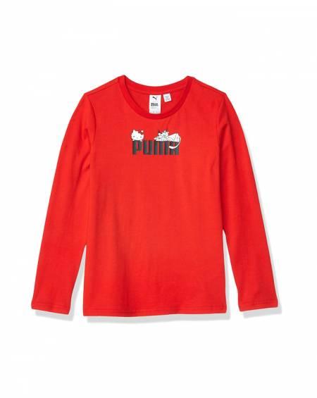PUMA x HELLO KITTY Long Sleeve T Shirt