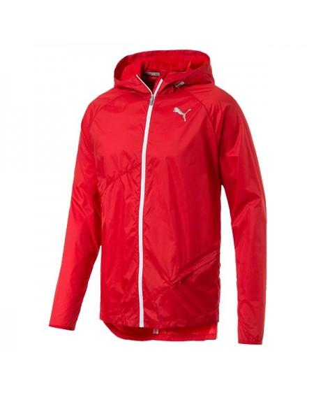 Puma Lightweight Hooded Jacket High Risk Red